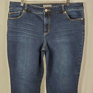 So Slimming by Chico's Women's Jeans Mid Rise